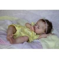 Adira, vinyl doll kit sculpted by Iveta Eckertova